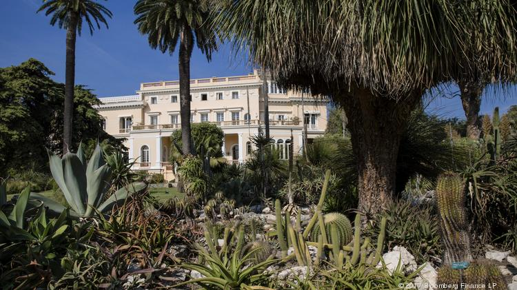 Tropical Plants Grow In The Private Gardens At Villa Les Cedres A 187