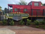 Adams Street Station exclusive tailgating community holds grand opening