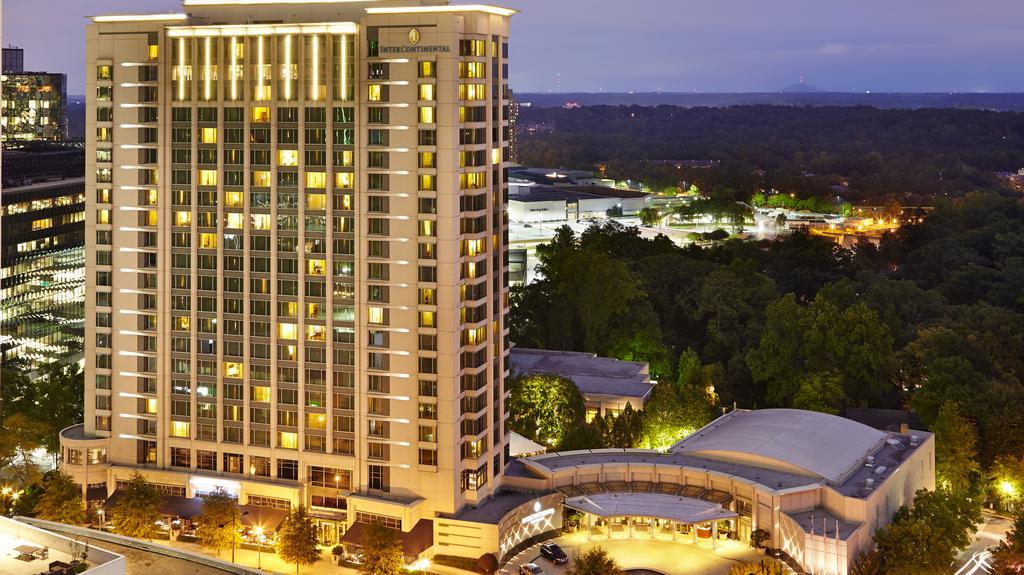 InterContinental Buckhead Atlanta, city's 16th-largest hotel, to be sold