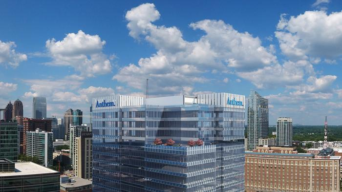 Here's why Anthem's new 21-story Atlanta IT center is a bet on the future of transportation