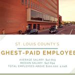 Show me the money: Here are the 29 St. Louis County workers who make more than $125,000