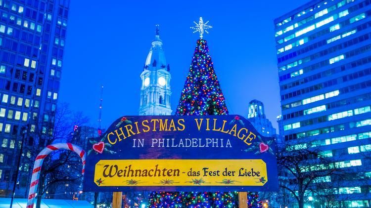 Christmas Village Philadelphia.Christmas Village In Philadelphia To Return To Love Park In