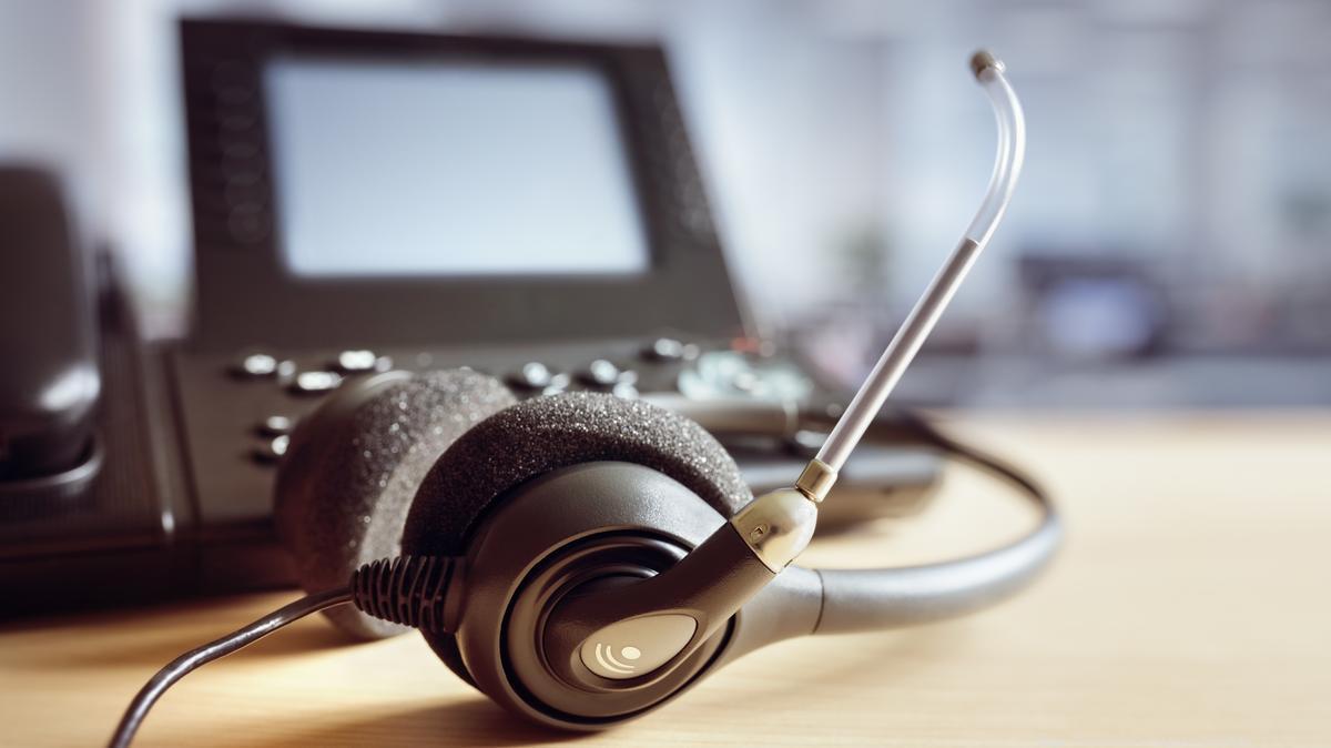 call center equipment