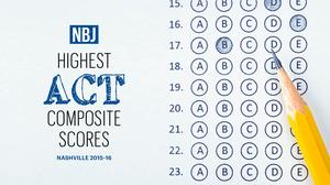 Ranked: See which Greater Nashville high schools have the best ACT scores