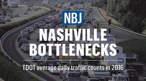 Nashville traffic: Where we rank nationally and where the worst bottlenecks are