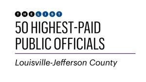 These are Louisville's highest-paid public officials