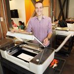 Innovator of the Month: Glowforge's laser prints 3-D designs in wood, fabric, even chocolate