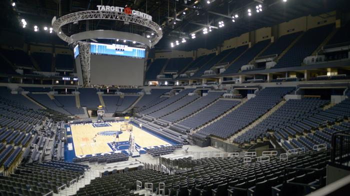 New-look Target Center almost finished (gallery)