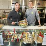 Duo spreads healthy lunch options with Evergreens salad stores