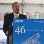 Blocks break ground on a dream: 46 Penn Centre