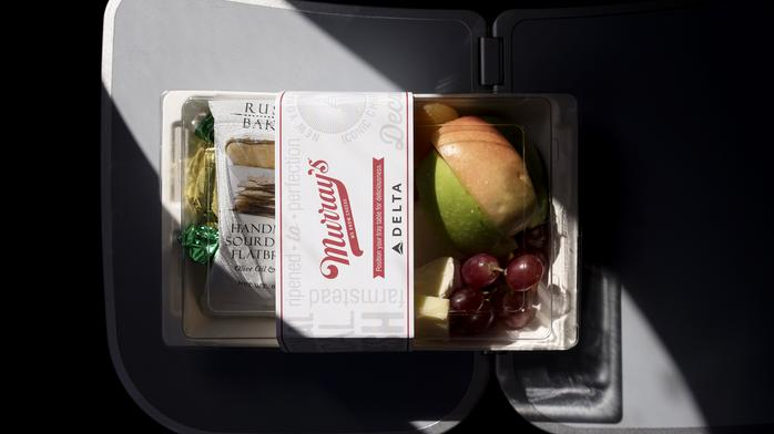 The free meal, long gone, returns on some airlines