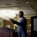 Packers' Randall Cobb tells business execs importance of supporting education: Slideshow