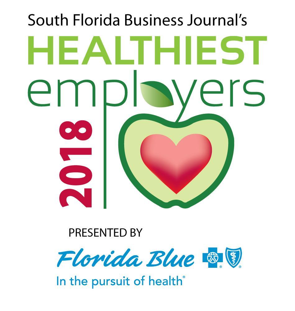 2018 Healthiest Employers Award