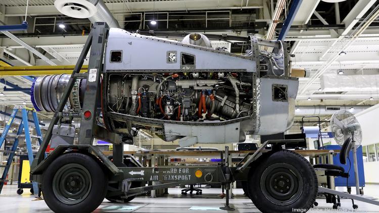 Peek inside StandardAero Inc 's aircraft engine facility in