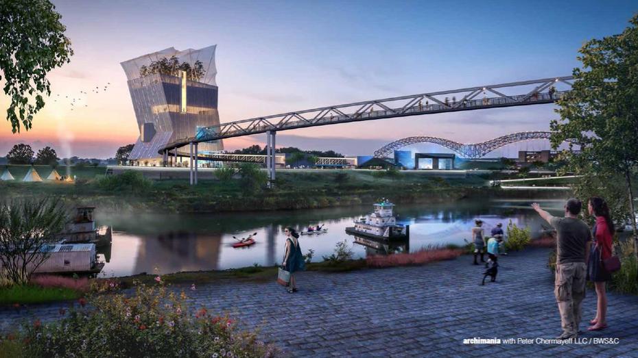 tennessee state building commission approves riverfront aquarium memphis brooks museum of art. Black Bedroom Furniture Sets. Home Design Ideas