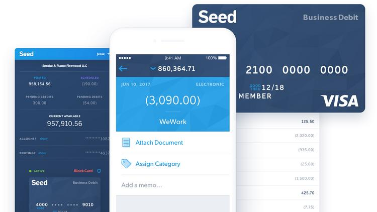 Banking Startup Seed Is Aimed At Small Businesses It Offers A Basic Business Account With