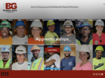 Builders Guild website emphasizes construction apprenticeships