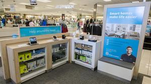 Kohl's debuts in-store Amazon shops