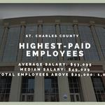 Sprawling salaries: The 31 highest-paid St. Charles County employees