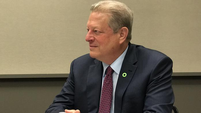 Gore urges Pennsylvania to shift quickly to renewables over gas, coal