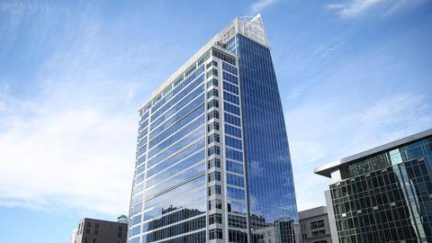 The 300 South Tryon tower opened in November 2017.