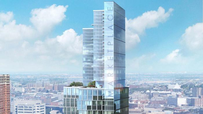 Cordish plots glass mixed-use tower at BCCC's former downtown campus