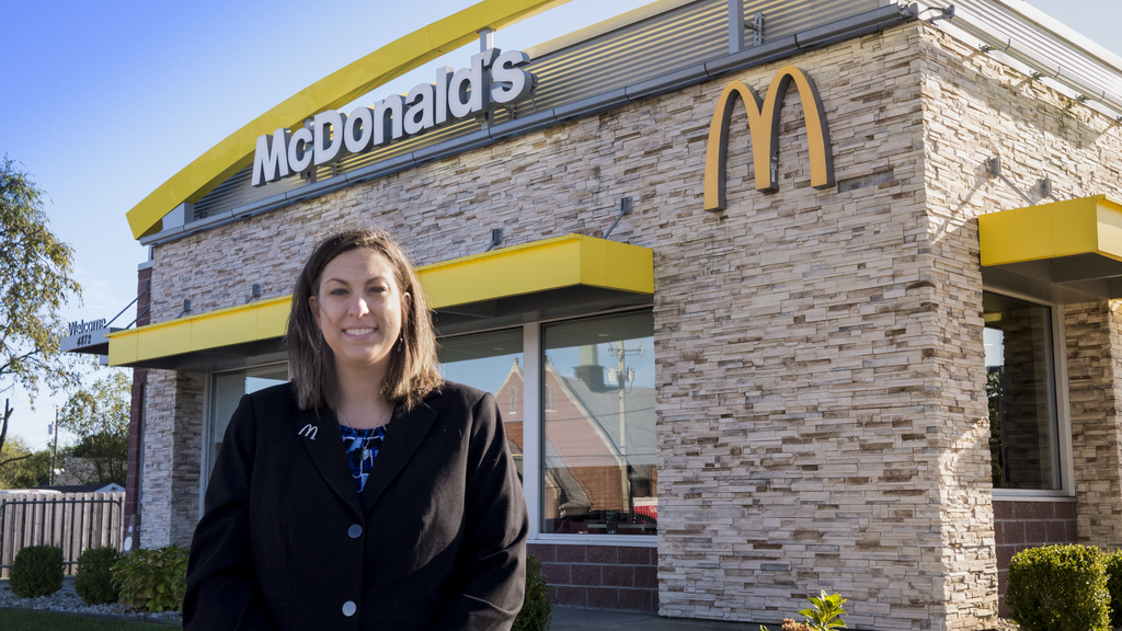 Following in her family's fast-food footsteps