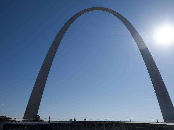 Arch restoration a 'pivot point' for St. Louis: NYT