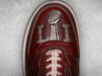 Nike's one-of-a-kind New England Patriots sneaker has a secret ingredient: a football