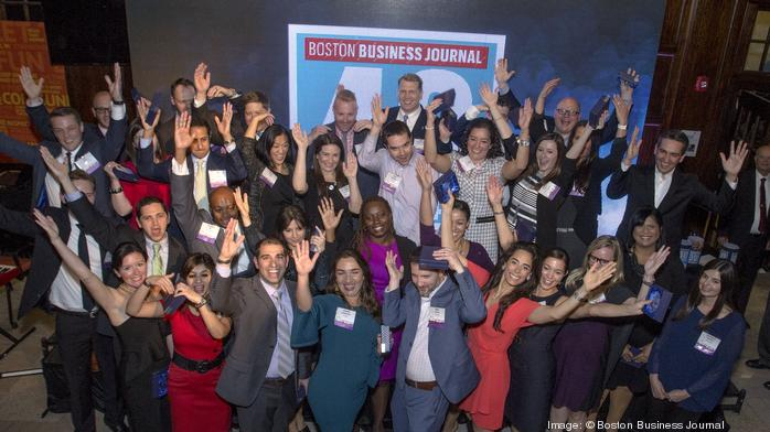 Check out photos from the BBJ's 2017 40 Under 40 event