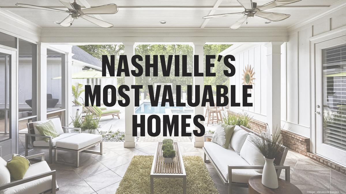 Check out Nashville\'s 50 most-valuable homes - Nashville Business ...