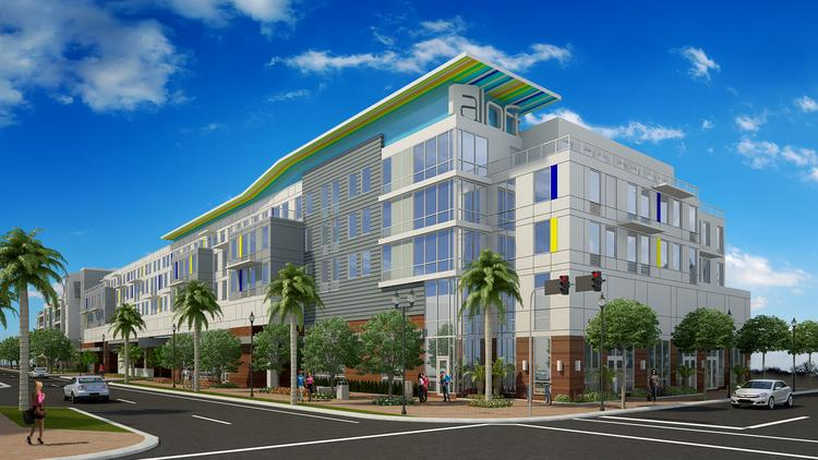 Samar 202 Florida Is Building 35 Condos And A 122 Room Aloft Hotel At 236