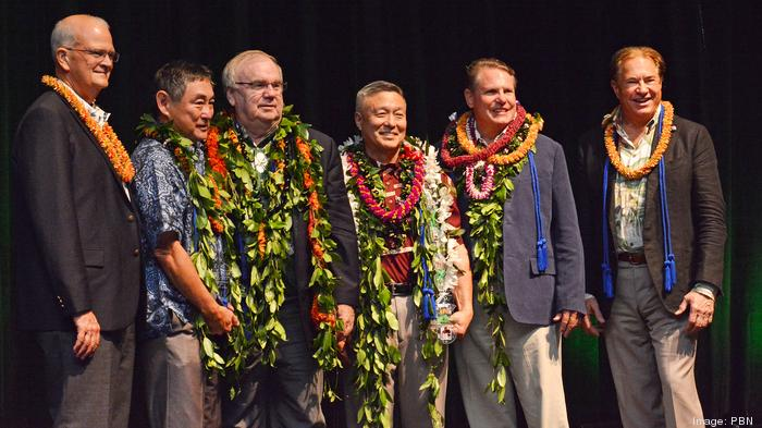 Slideshow: Four inducted into UH Shidler College of Business Hall of Honor