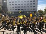 PHOTOS: #SaveTheCrew rally brings thousands of fans downtown