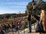 Fans of Columbus Crew pro soccer team rally against possible move to Austin (Video)
