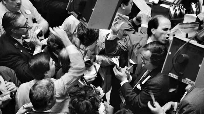 A stock market panic like 1987 could happen again