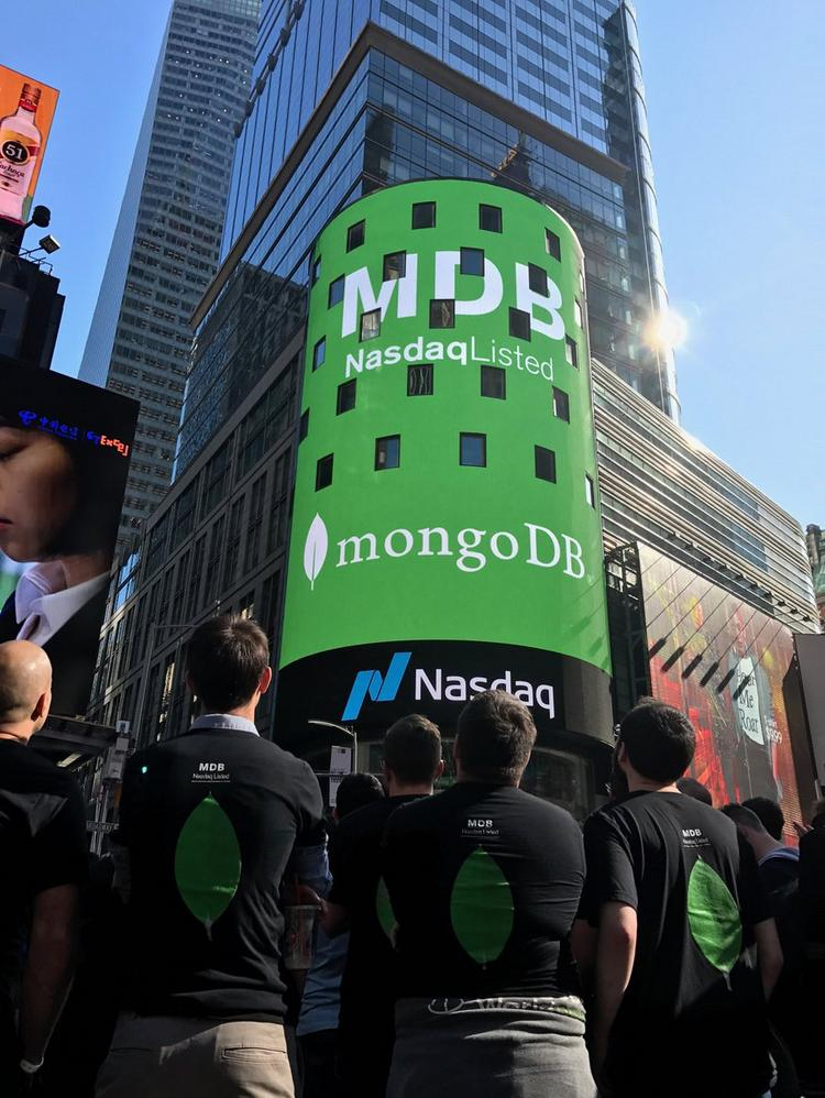 Strong MongoDB IPO could help other Silicon Valley database