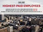 These are Oakland's top 20 highest-paid public employees