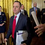 <strong>Reince</strong> <strong>Priebus</strong> lands a new job that keeps him in D.C.