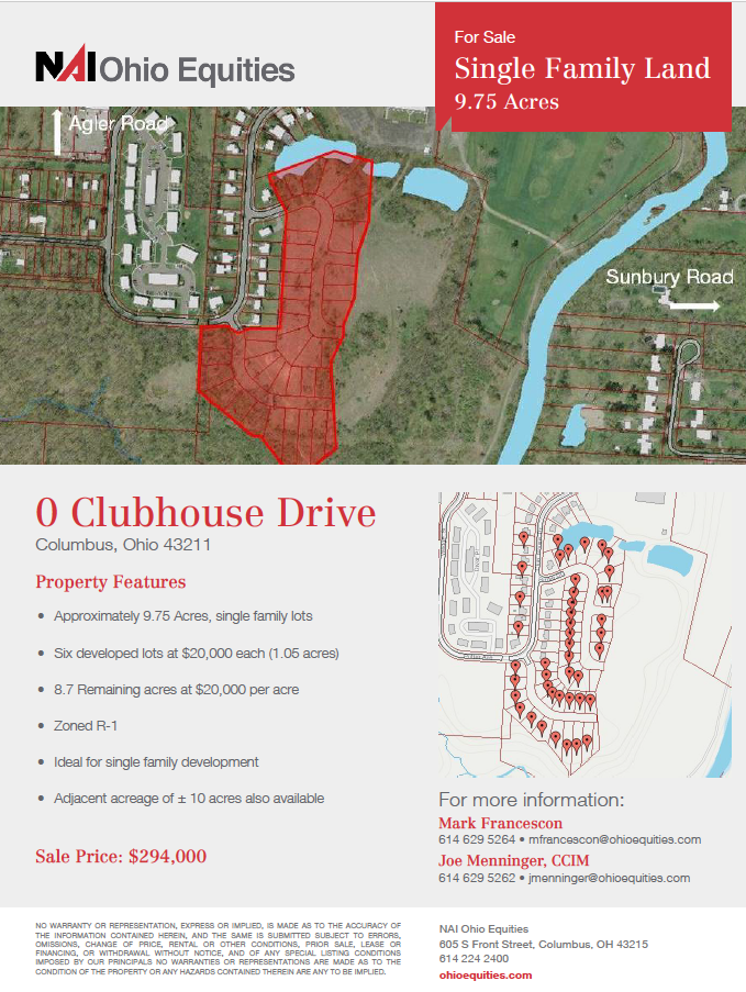 Naiohio Equities Lists 35 Acres Of Land For Sale For Residential