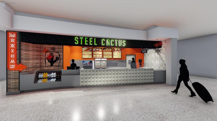 Steel cactus pittsburgh