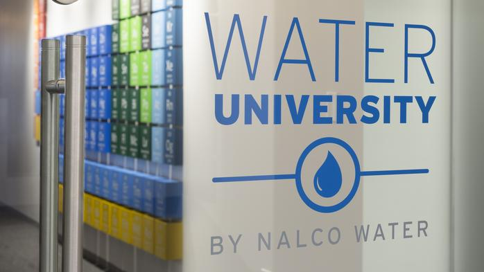 Nalco's Water University provides hands-on training in water conservation and recycling