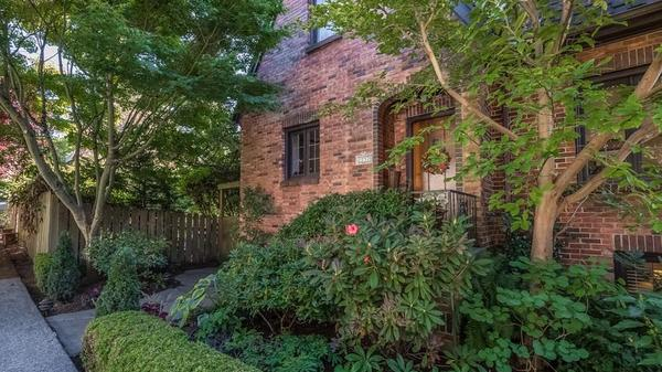 Classic Brick Tudor with Old World Charm in Montlake