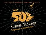 The fastest-growing companies in Austin; How ABJ's 2017 Fast 50 stacked up