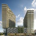 Grocer-anchored condo, apartment tower is SPP's first residential building in downtown Tampa (Renderings)
