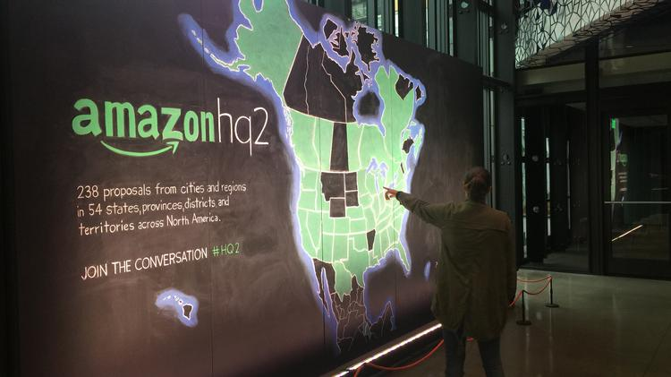 Chicago offers Amazon $1 3 billion in tax incentives for