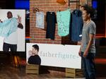 This local stay-at-home dad created a line of clothes for new fathers. Now he's on 'Shark Tank.'