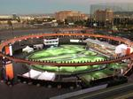 A look at the pop-up sports venue created by architect's Denver office