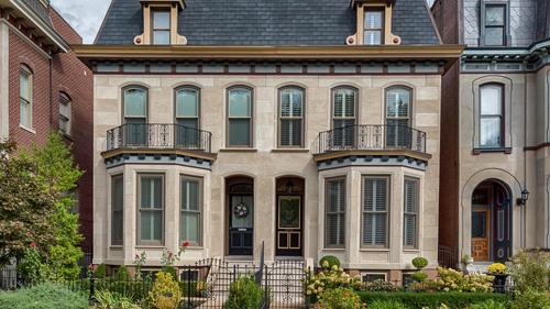 Pristine Townhome Creates the Perfect Urban Ambiance