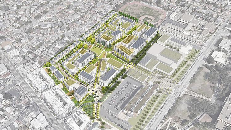 1100 Proposed Homes Near Sfs Balboa Park Bart Station Face
